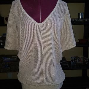 Gorgeous Gold Toned Express knit